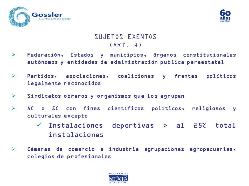 Federación, Estados y municipios, órganos constitucionales autónomos y entidades de administración publica paraestatal Partidos, asociaciones, coalici