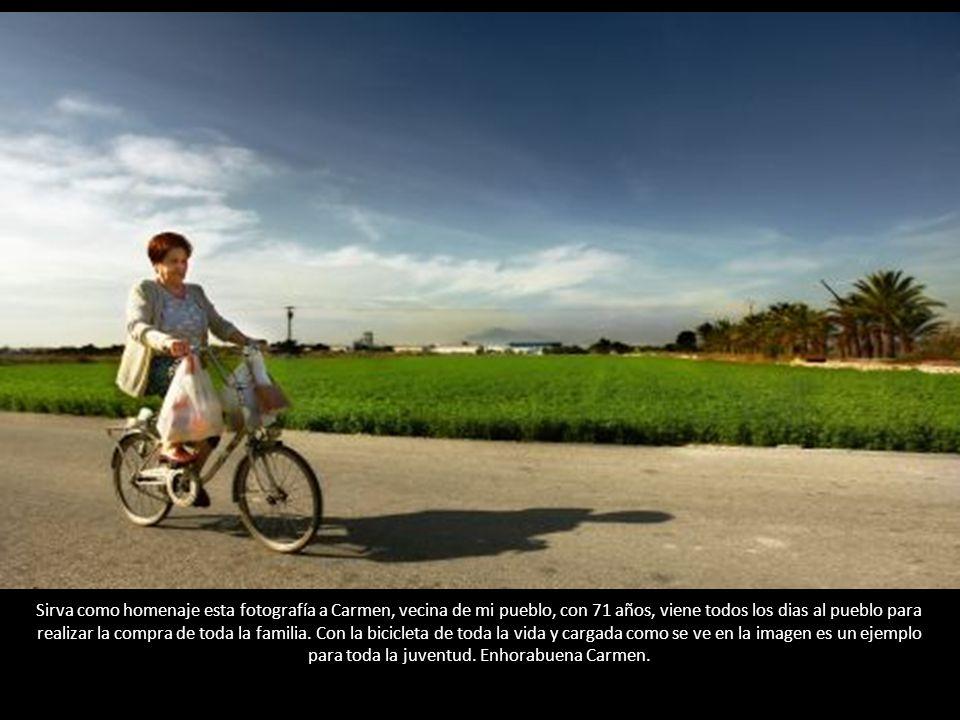 La edad no supone ningún limite para practicar deporte, como pude observar durante el pasado I Maratón Ciudad de Castellón 2010, en el que esta mujer