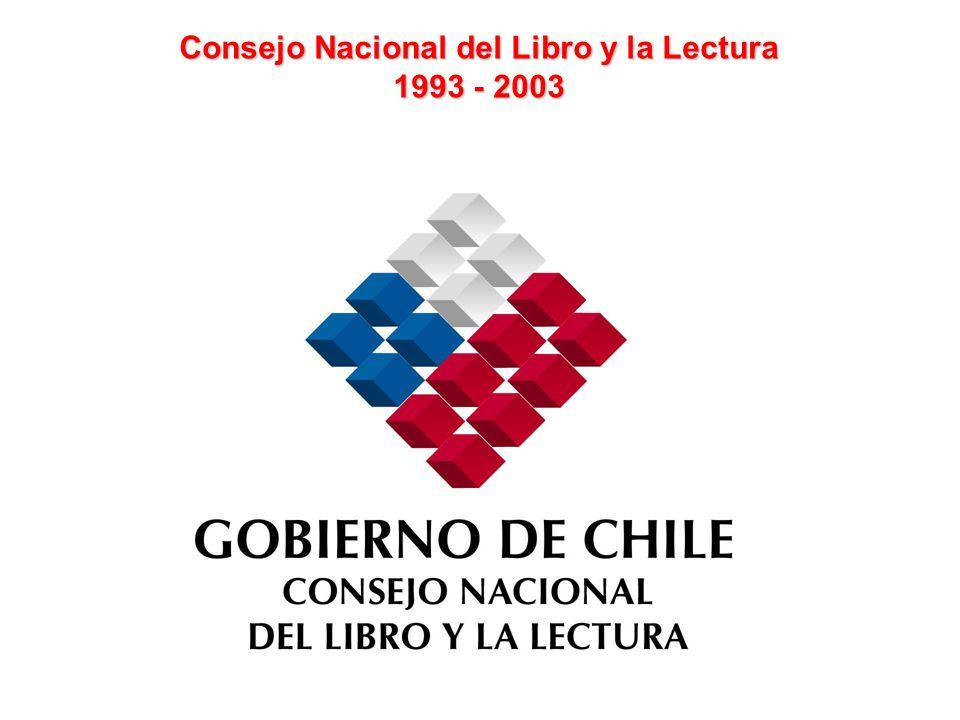 Consejo Nacional del Libro y la Lectura 1993 - 2003