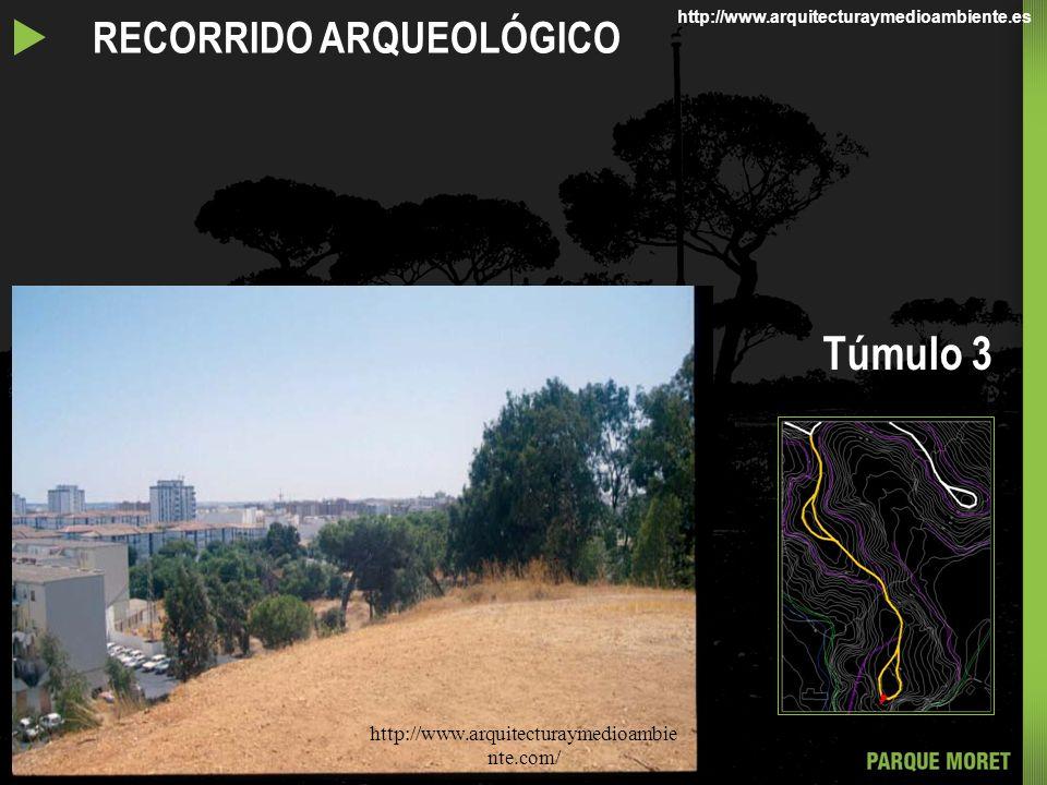RECORRIDO ARQUEOLÓGICO Túmulo 3 http://www.arquitecturaymedioambie nte.com/ http://www.arquitecturaymedioambiente.es