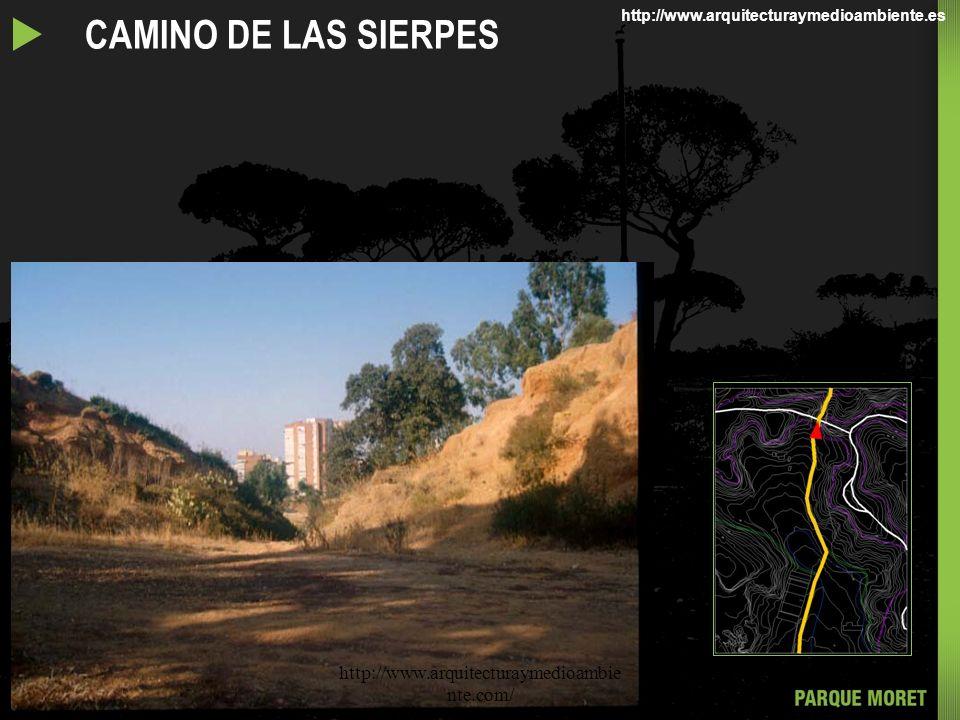 CAMINO DE LAS SIERPES http://www.arquitecturaymedioambie nte.com/ http://www.arquitecturaymedioambiente.es