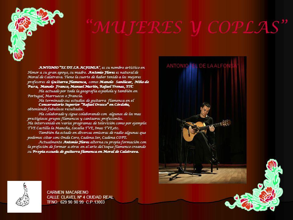 Sergio Moreno formado como guitarrista en la Sergio Moreno formado como guitarrista en la rondalla del Colegio Público Cruz Prado de Ciudad Real.