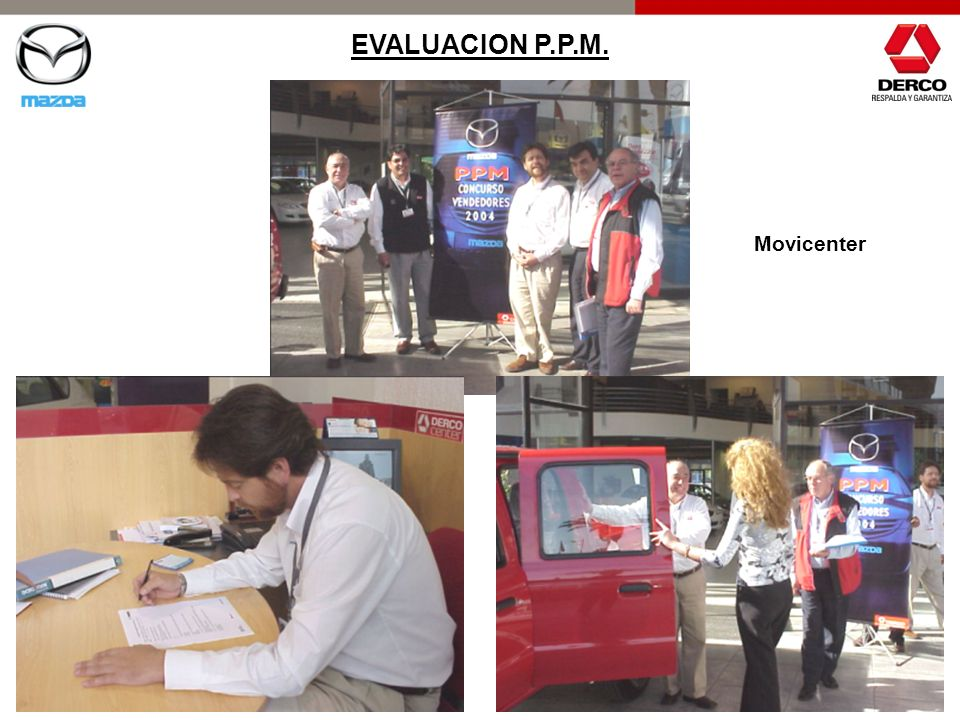 Movicenter EVALUACION P.P.M.