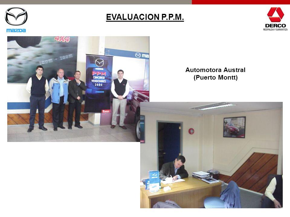 EVALUACION P.P.M. Automotora Austral (Puerto Montt)
