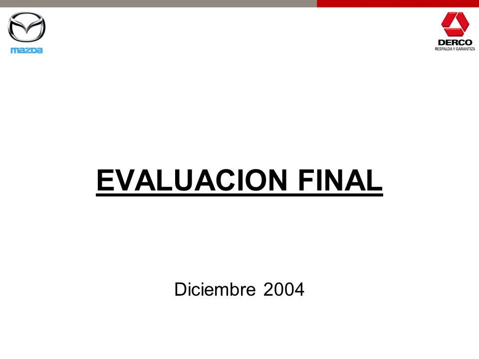 EVALUACION FINAL Diciembre 2004