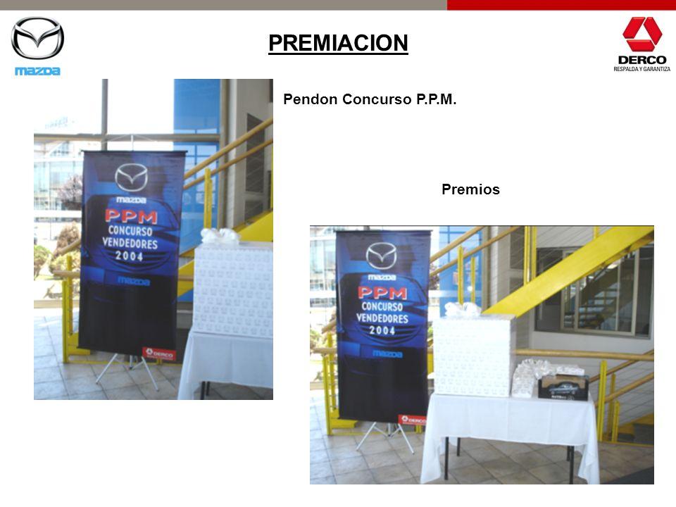 PREMIACION Pendon Concurso P.P.M. Premios