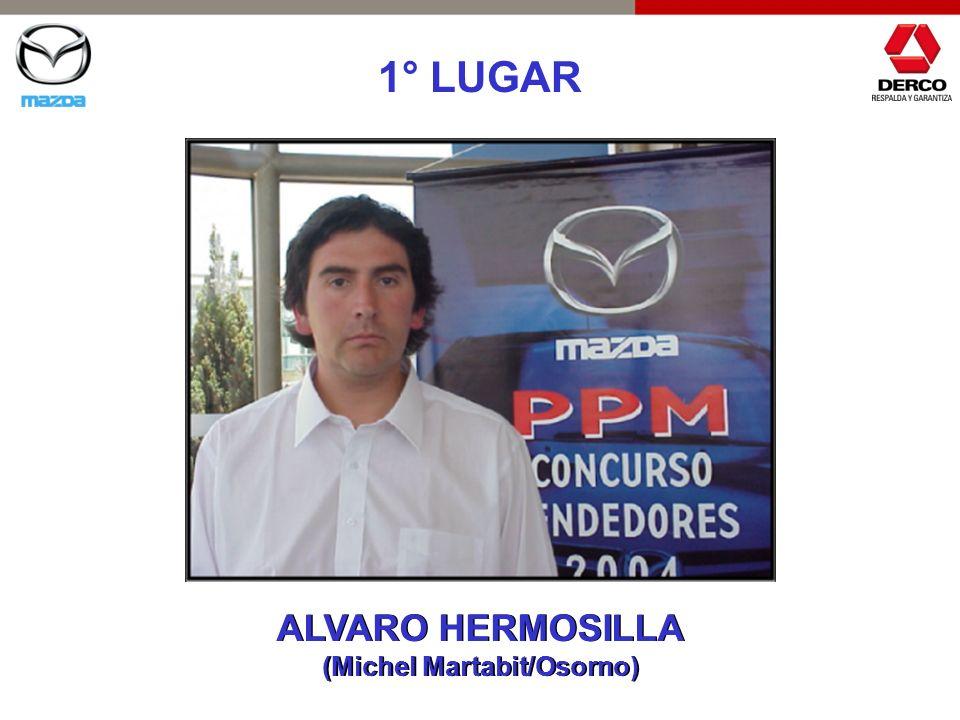 1° LUGAR ALVARO HERMOSILLA (Michel Martabit/Osorno) ALVARO HERMOSILLA (Michel Martabit/Osorno)