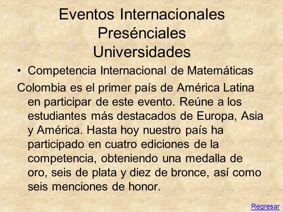 Eventos Internacionales Presénciales Universidades Competencia Internacional de Matemáticas Colombia es el primer país de América Latina en participar