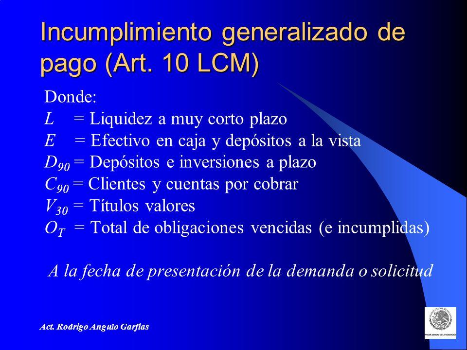 Act.Rodrigo Angulo Garfias Incumplimiento generalizado de pago (Art.