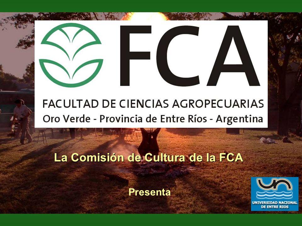 La Comisión de Cultura de la FCA Presenta