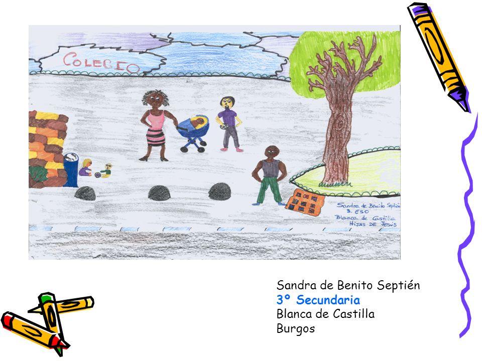 Sandra de Benito Septién 3º Secundaria Blanca de Castilla Burgos