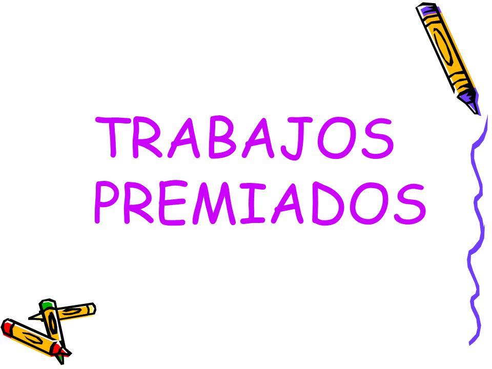 TRABAJOS PREMIADOS