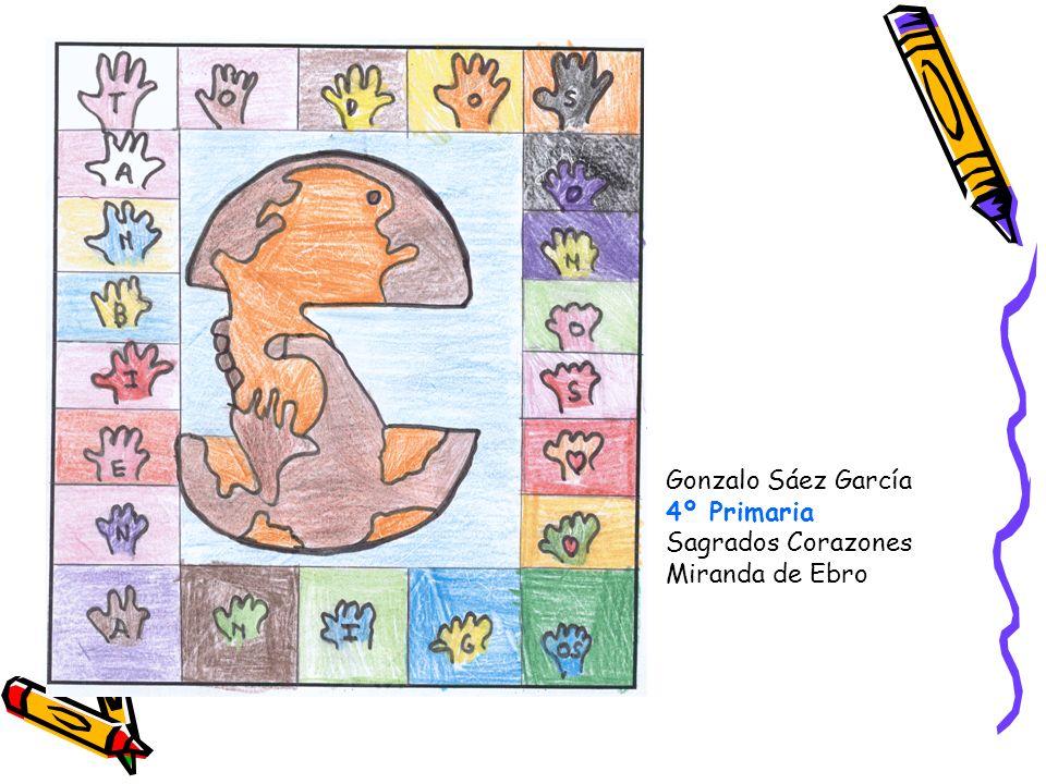 Gonzalo Sáez García 4º Primaria Sagrados Corazones Miranda de Ebro