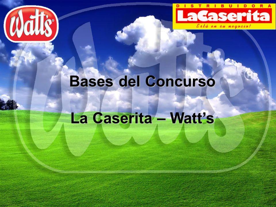 Bases del Concurso La Caserita – Watts