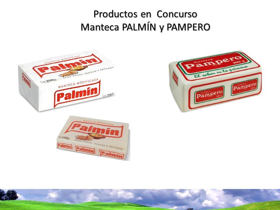 Bases del concurso Productos en Concurso Manteca PALMÍN y PAMPERO