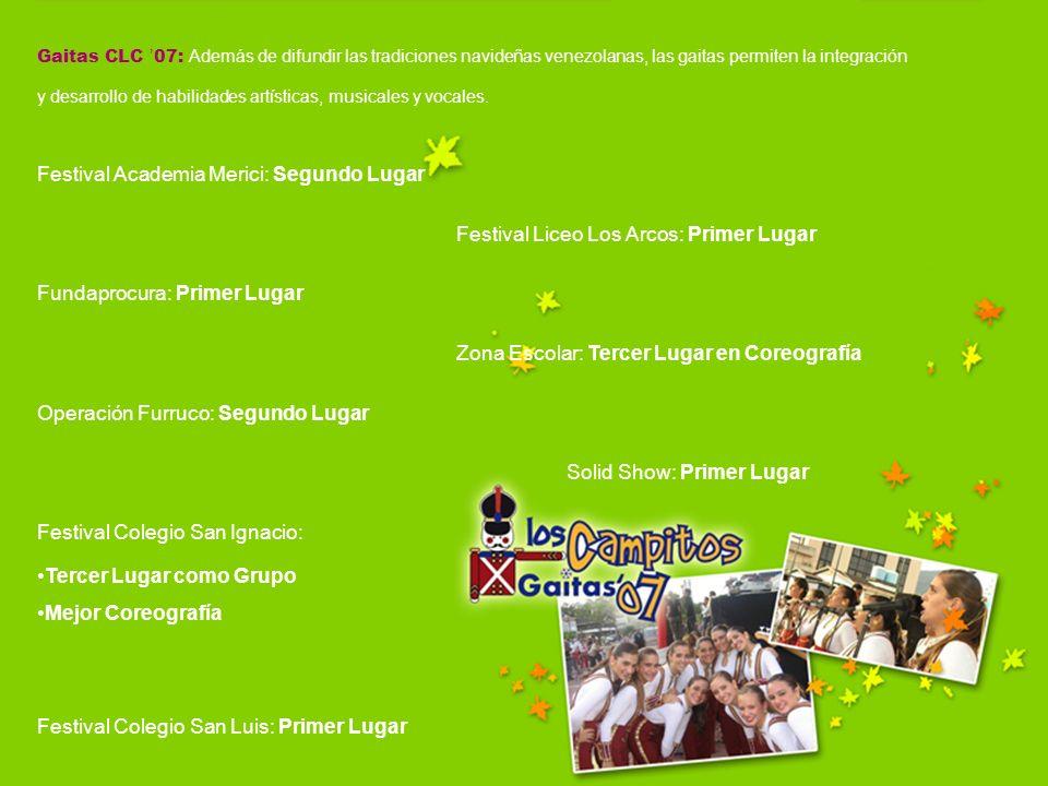Gaitas CLC 07: Además de difundir las tradiciones navideñas venezolanas, las gaitas permiten la integración y desarrollo de habilidades artísticas, mu