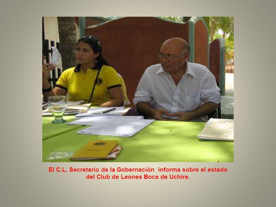 EL Presidente del Club de Boca de Uchire C.L.Argenis Castellano y el 1er.