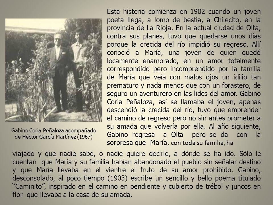 Esta historia comienza en 1902 cuando un joven poeta llega, a lomo de bestia, a Chilecito, en la provincia de La Rioja.