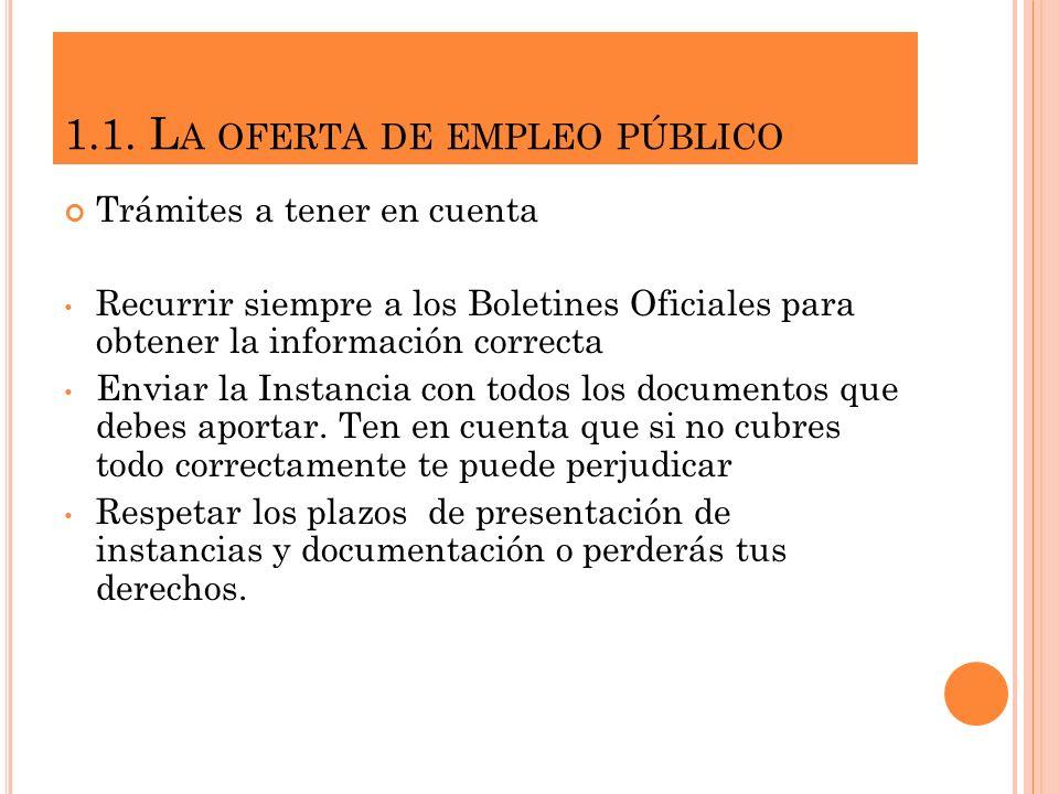 4. INSTRUMENTOS DE PRESENTACIÓN 4.1. EL CURRICULUM VITAE