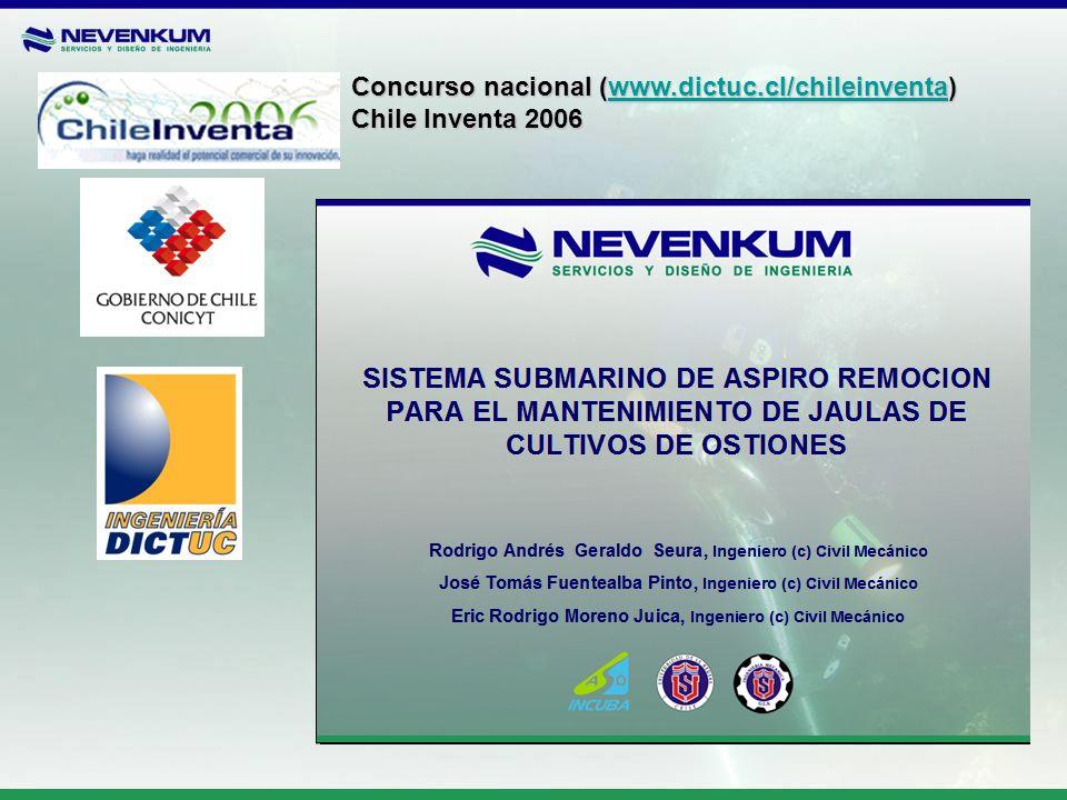 Concurso nacional (www.dictuc.cl/chileinventa) www.dictuc.cl/chileinventa Chile Inventa 2006
