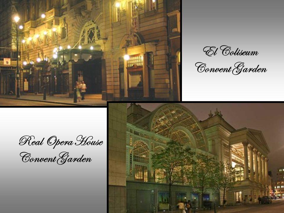 Convent Garden de Londres. Lo llaman Rey de la Octava Do