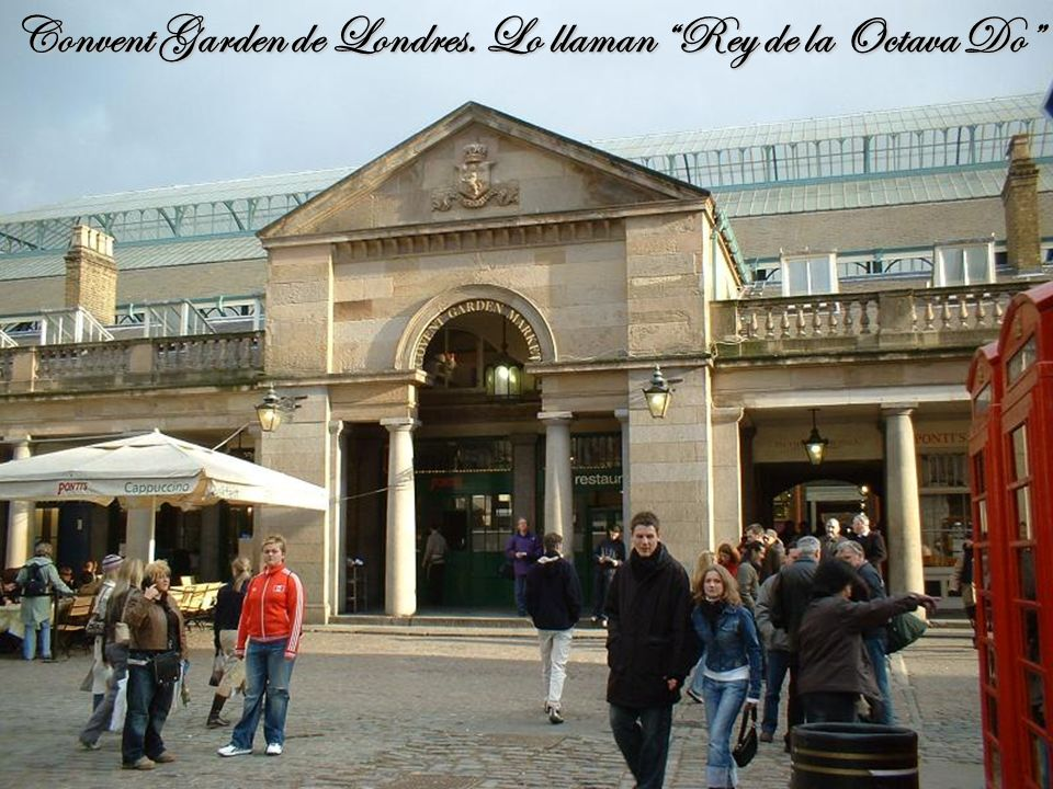 Diez años antes el nombre de Pavarotti ya se ha consolidado internacionalmente en el Convent Garden de Londres, donde le conceden el título de Rey de la Octava Do.