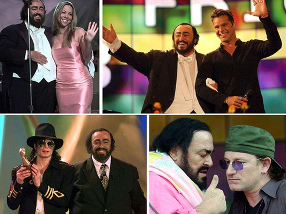 De esta forma, anualmente se organizaron conciertos en su natal Módena, bajo el título de Pavarotti and friends , donde participaban otras personalidades de la música internacional.