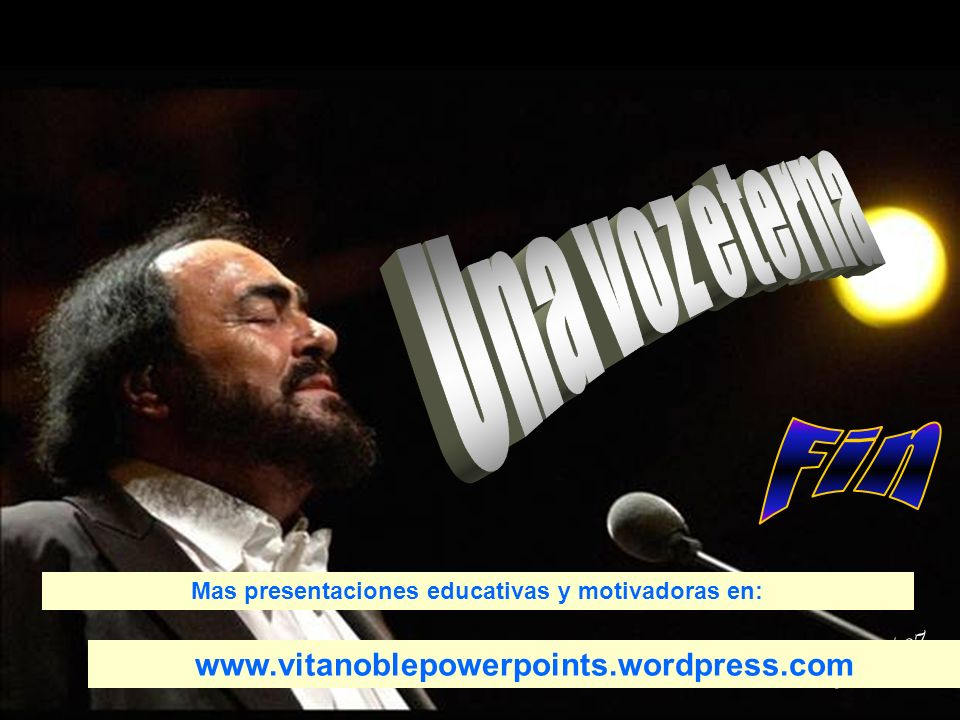 Lina/7 GRACIAS por visitar este sitio Vitanoblepowerpoints.wordpress.com DESPERTANDO LA CONCIENCIA SOLIDARIA POR UNA SOCIEDAD MAS HUMANA Y UN MUNDO ME