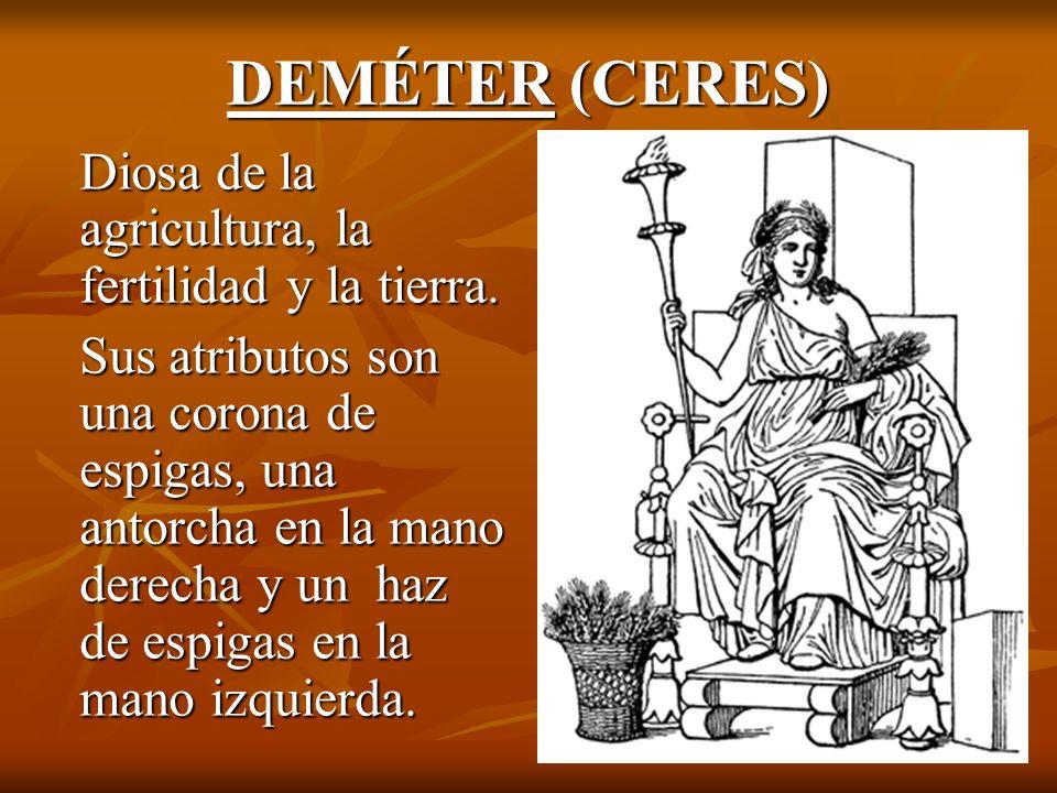 ATENEA ARES (MINERVA) (MARTE) ATENEA ARES (MINERVA) (MARTE) Diosa de la sabiduría y la guerra Dios de la guerra de carácter sal- Justa.
