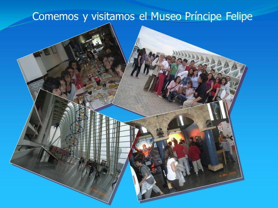 Comemos y visitamos el Museo Príncipe Felipe
