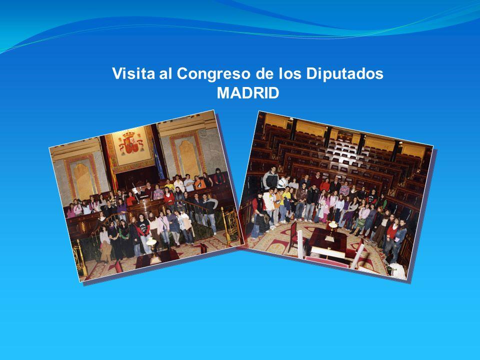 Visita al Congreso de los Diputados MADRID