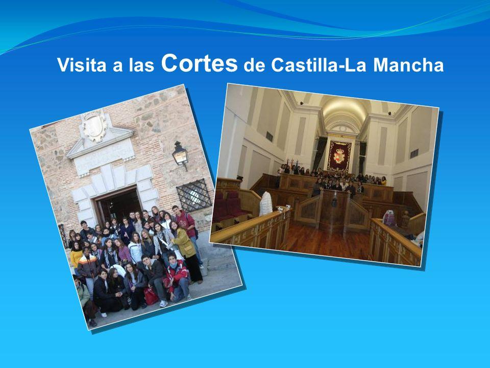 Visita a las Cortes de Castilla-La Mancha