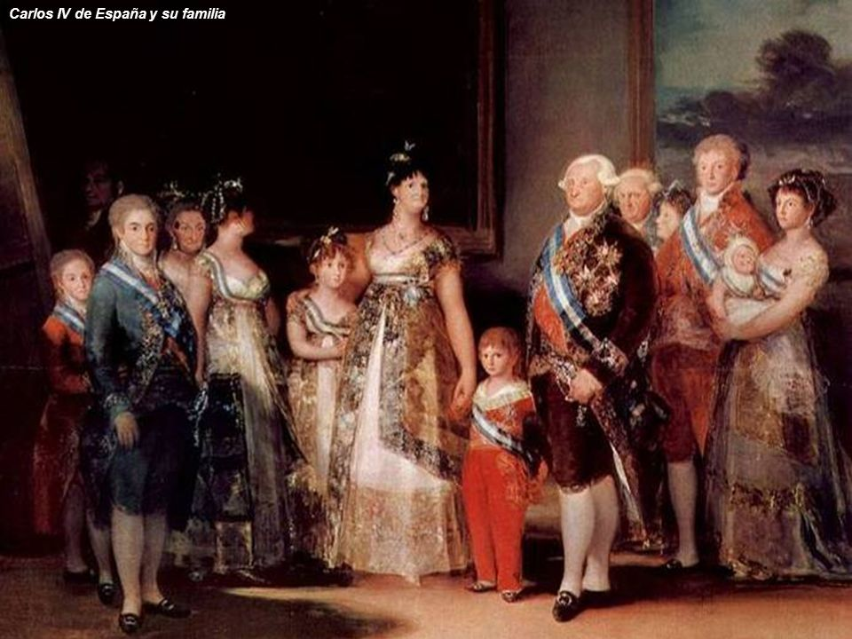 Carlos IV de España y su familia