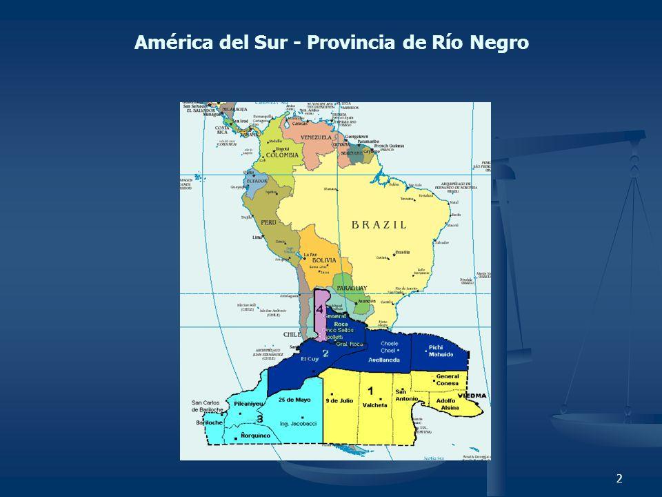 2 América del Sur - Provincia de Río Negro