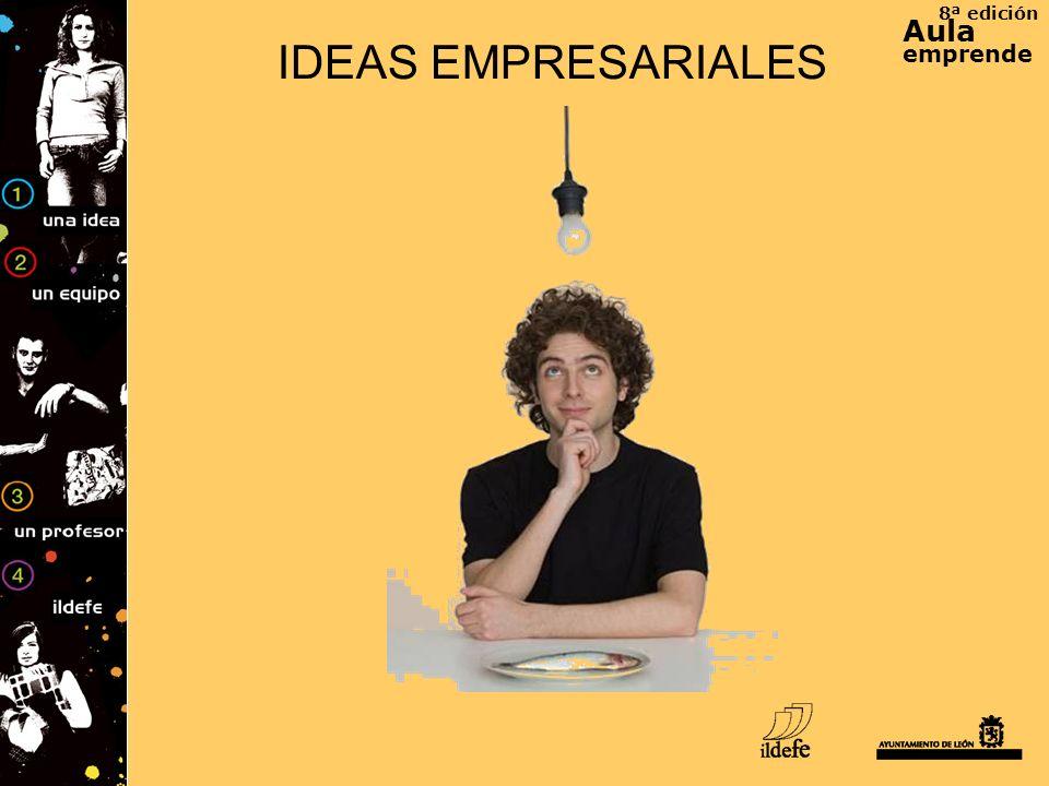 8ª edición Aula emprende IDEAS EMPRESARIALES