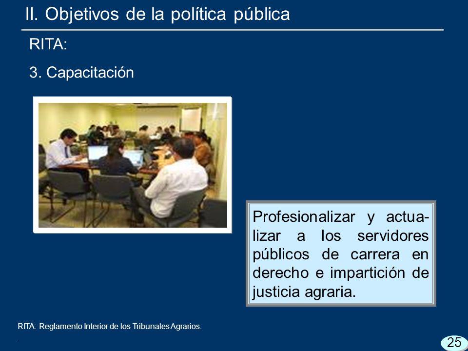 RITA: Reglamento Interior de los Tribunales Agrarios..