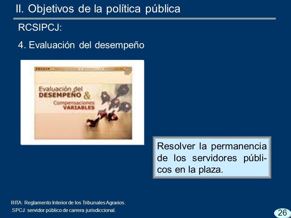 RITA: Reglamento Interior de los Tribunales Agrarios..SPCJ: servidor público de carrera jurisdiccional.