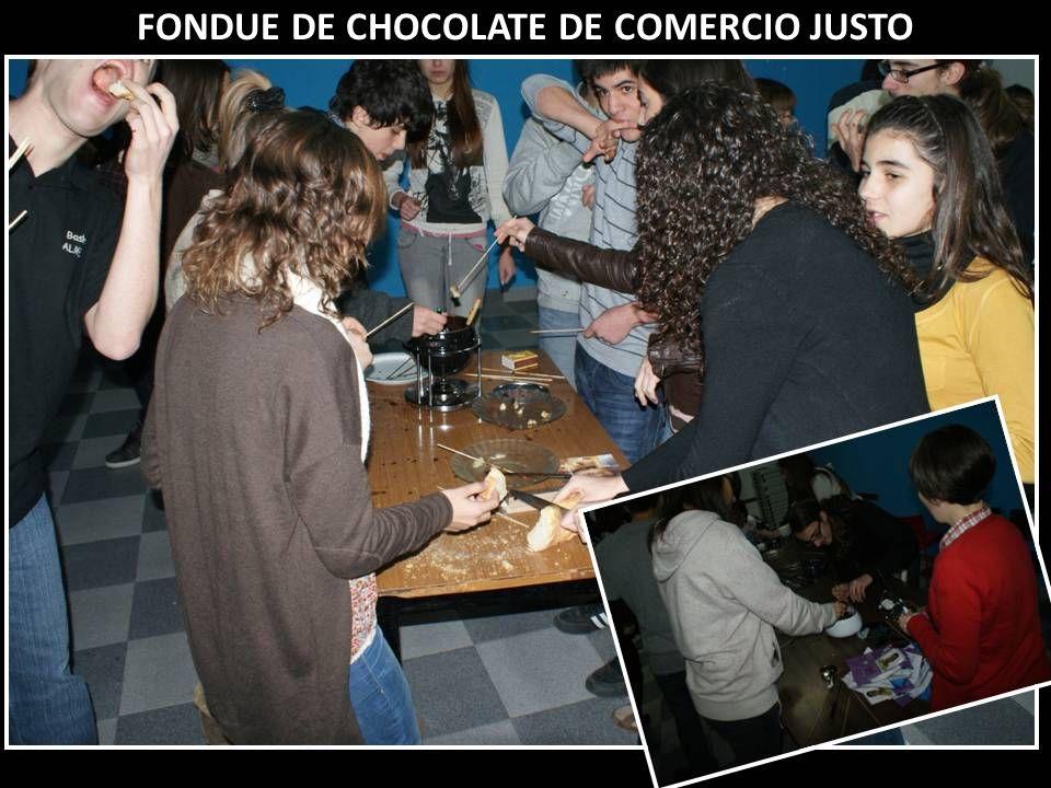 FONDUE DE CHOCOLATE DE COMERCIO JUSTO