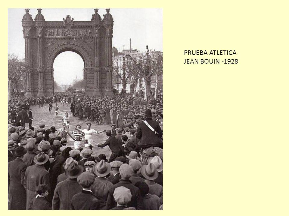 PRUEBA ATLETICA JEAN BOUIN -1928