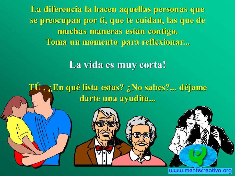 Las personas que hacen la diferencia en tu vida no son aquellos con las mejores credenciales, el mayor dinero o los mayores premios...