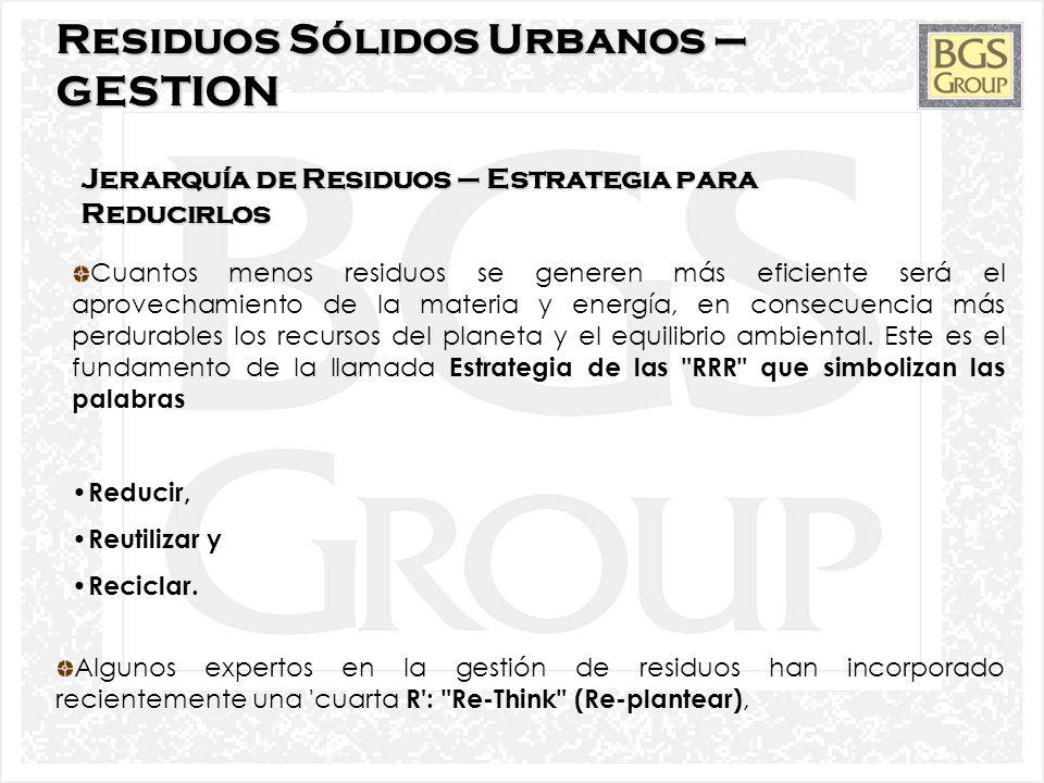 9 Composición de Residuos Sólidos Urbanos (Cont) Materia orgánica: restos procedentes de la limpieza o la preparación de los alimentos junto la comida sobrante.