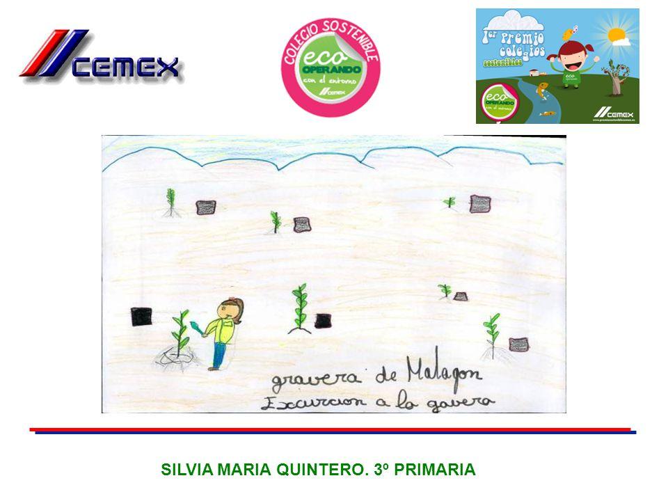 SILVIA MARIA QUINTERO. 3º PRIMARIA