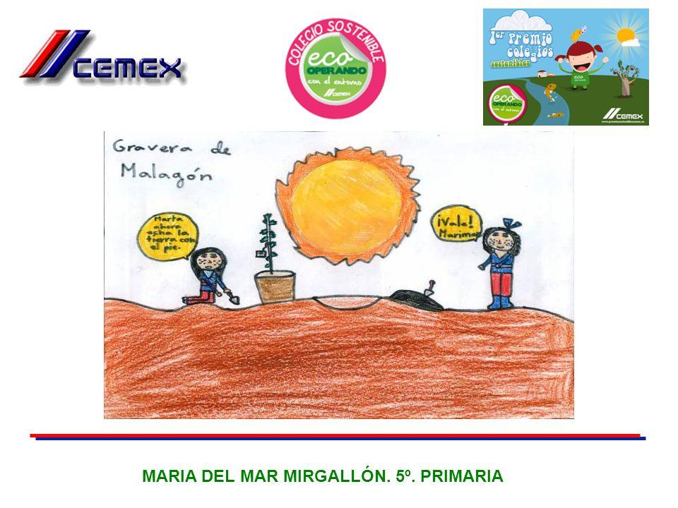 MARIA DEL MAR MIRGALLÓN. 5º. PRIMARIA