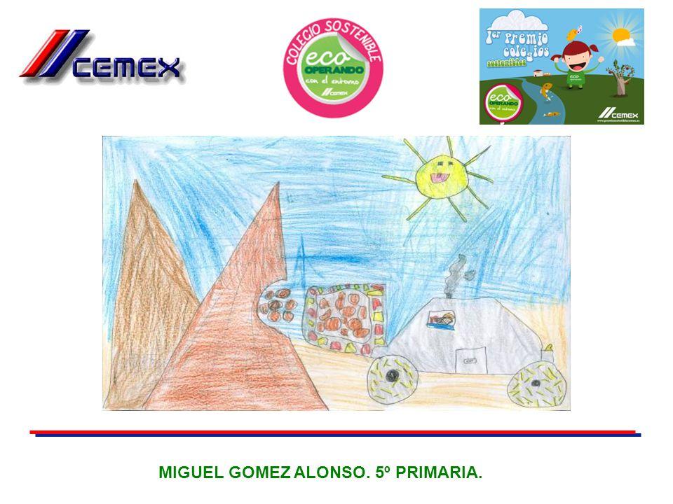 MIGUEL GOMEZ ALONSO. 5º PRIMARIA.