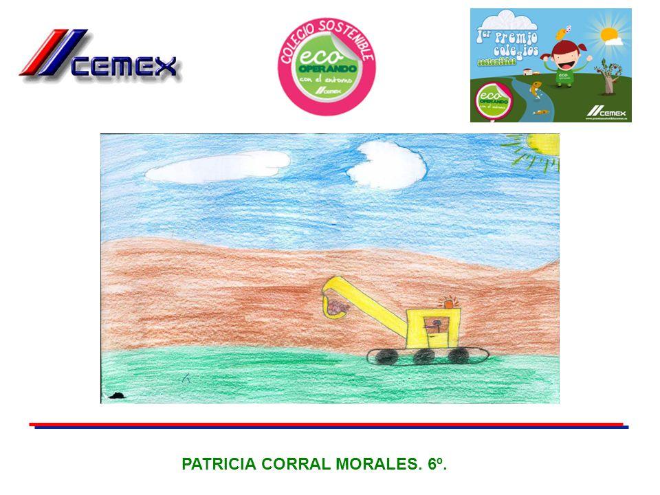 PATRICIA CORRAL MORALES. 6º.