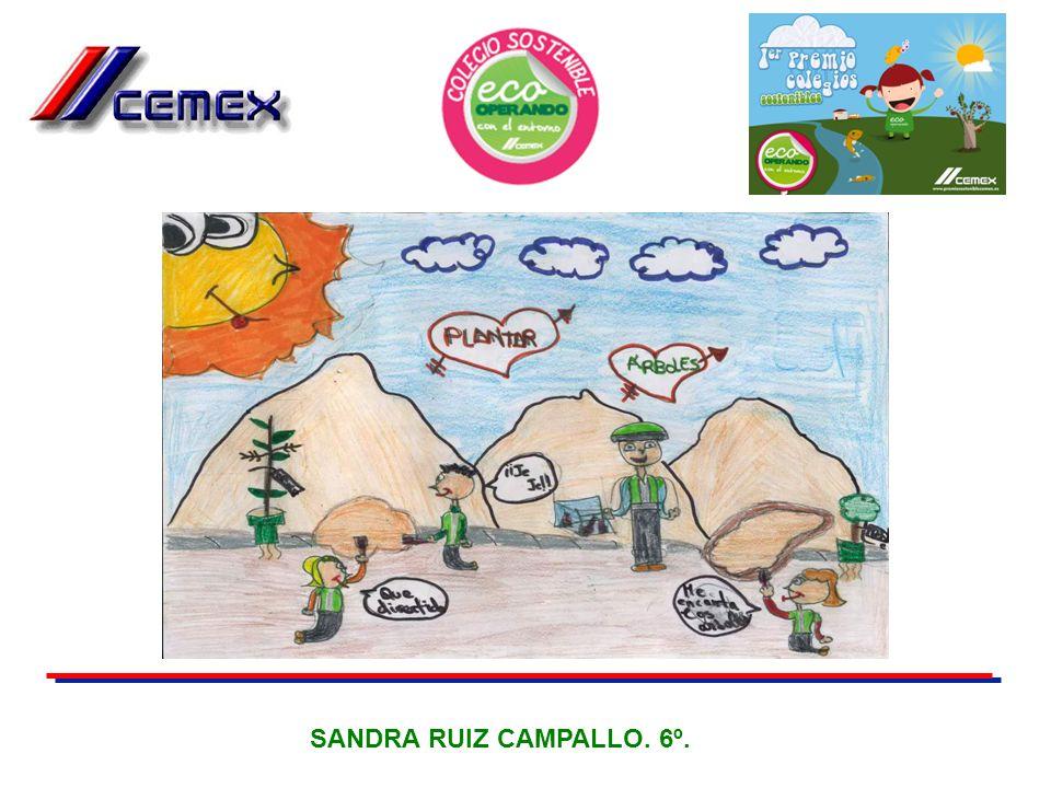 SANDRA RUIZ CAMPALLO. 6º.