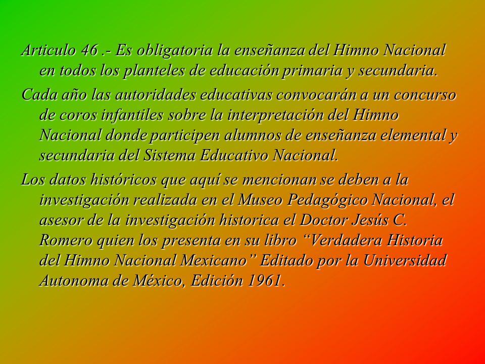 Fue asi que en el año de 1911 el Director de la escuela de música (ahora conservatorio) y miembro del Consejo Consultivo de la Ciudad de México,maestr