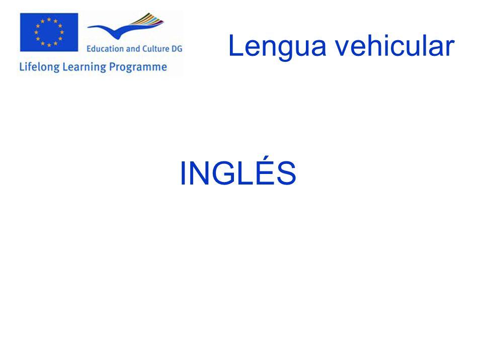 Lengua vehicular INGLÉS