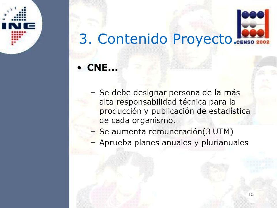 10 3. Contenido Proyecto. CNE...