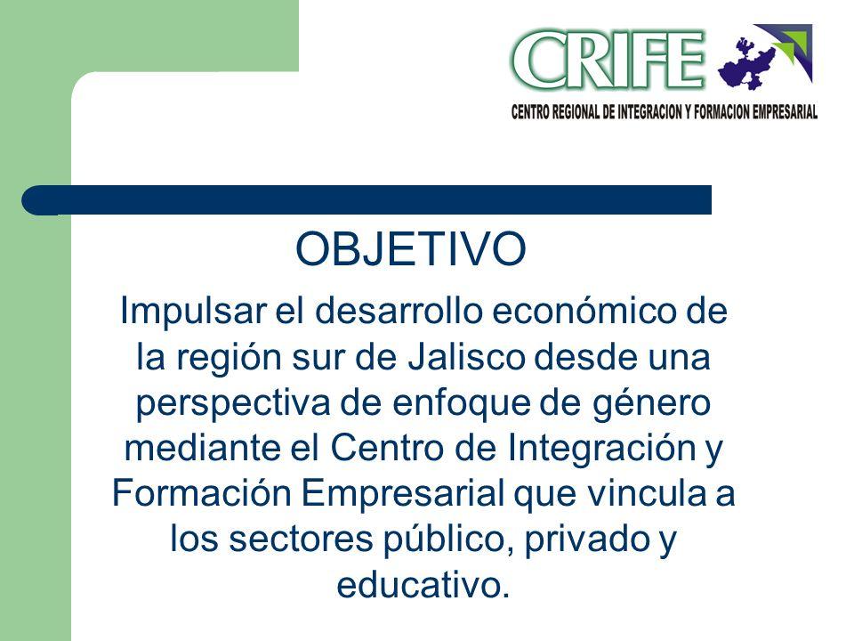 Impulsar el desarrollo económico de la región sur de Jalisco desde una perspectiva de enfoque de género mediante el Centro de Integración y Formación